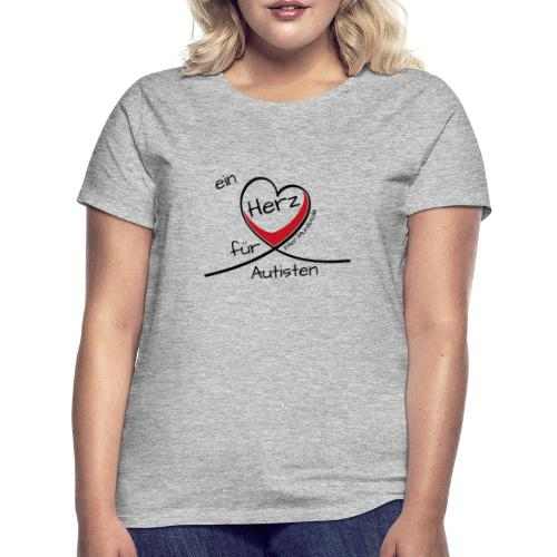 Ein Herz für Autisten - Frauen T-Shirt