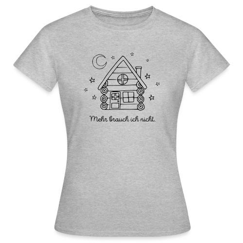 Hütte Spruch Canada Geschenk Outdoor Abenteuer - Frauen T-Shirt