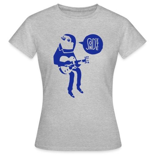 Le son d'été birdy jam 2016 (Bag) - Frauen T-Shirt