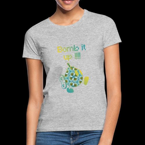 Bomb It Up : Yellow Power !!! - T-shirt Femme