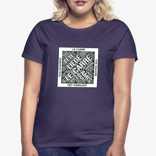 Le Carré - Liège - T-shirt Femme