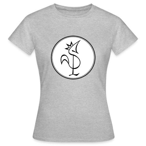 Pitou Noir fond blanc - T-shirt Femme