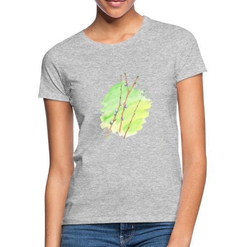 Weidenkätzchen - Frauen T-Shirt