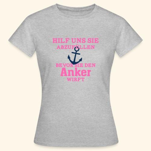 JGA Shirts | Braut | Team Braut | Anker - Frauen T-Shirt