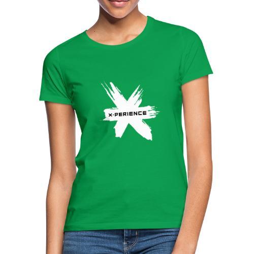 x-perience Logo weiß - Frauen T-Shirt