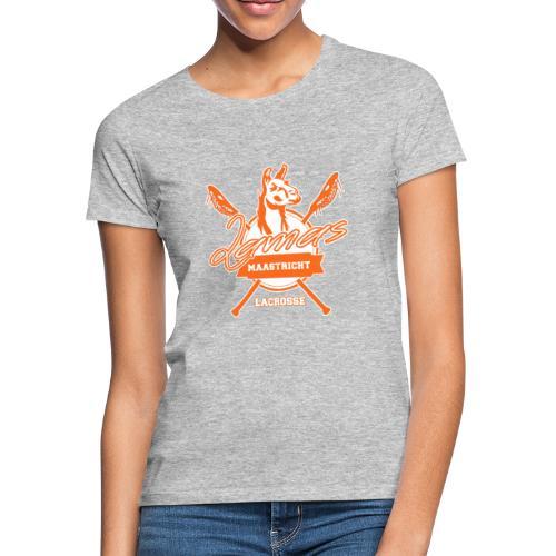 Llamas - Maastricht Lacrosse - Oranje - Vrouwen T-shirt