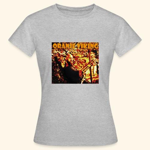 oranje viking - Frauen T-Shirt