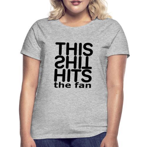TSHTF BLACK - Camiseta mujer