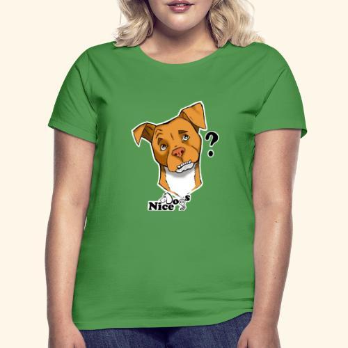 Nice Dogs pitbull 2 - Maglietta da donna
