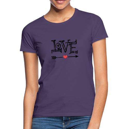 Love flêche - T-shirt Femme