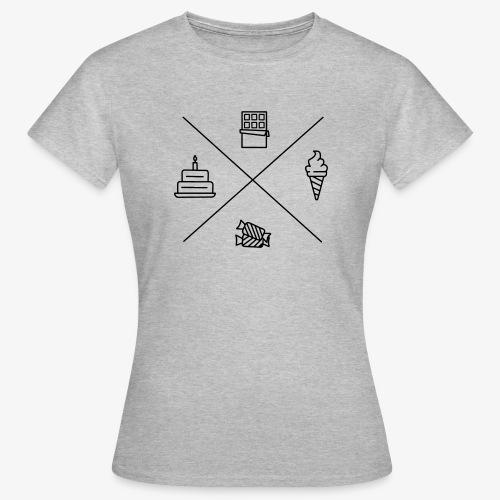 Süßigkeiten - Frauen T-Shirt
