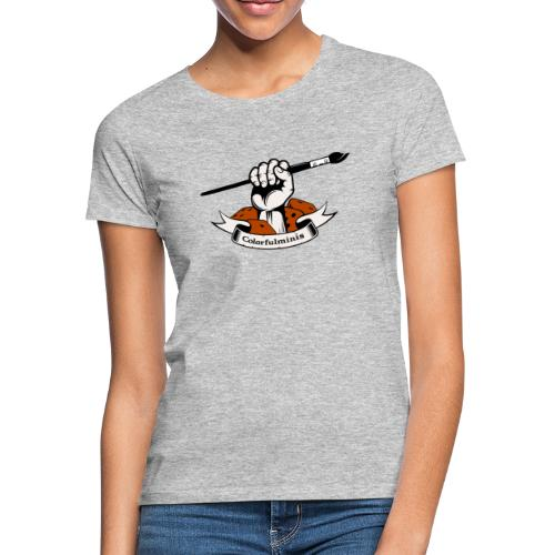 Colorfulminis - T-shirt Femme