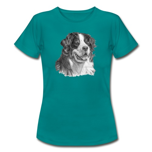 Bernese mountain dog - Dame-T-shirt