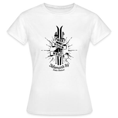 FreeYourHeels_merge - Naisten t-paita