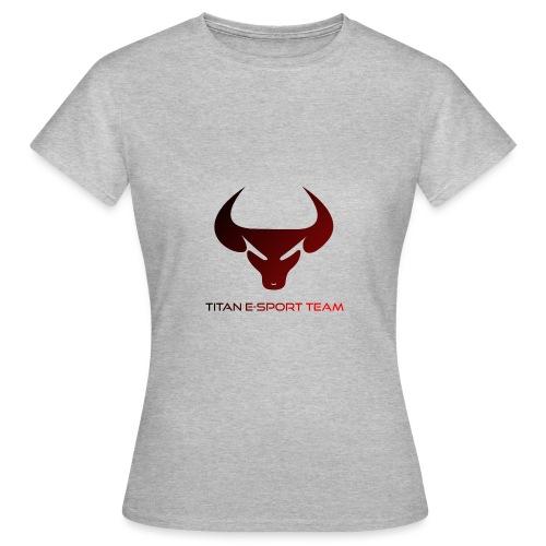 logo TET - T-shirt Femme