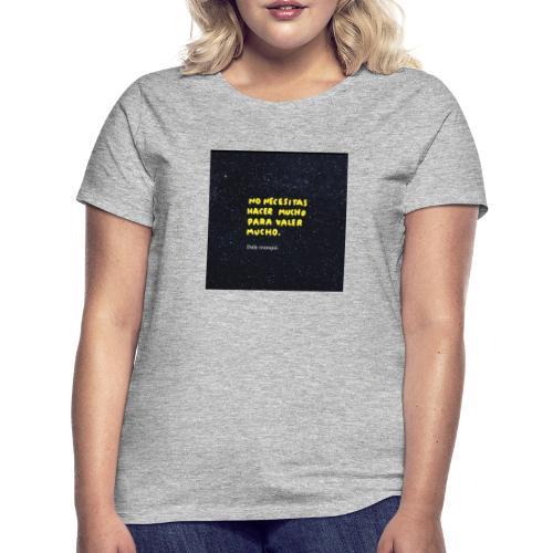 Palabras - Camiseta mujer