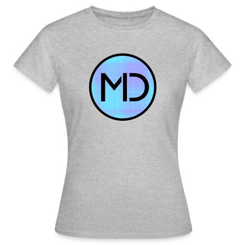 MD Blue Fibre Trans - Women's T-Shirt
