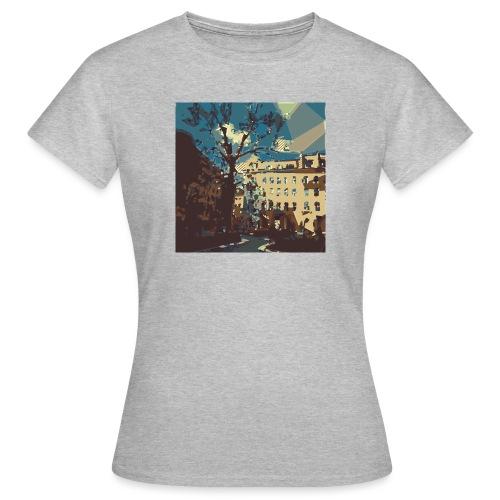 Abstrakt Budapest - Frauen T-Shirt