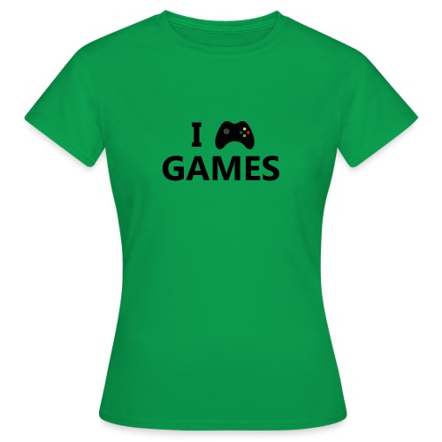 I Love Games 3 - Camiseta mujer