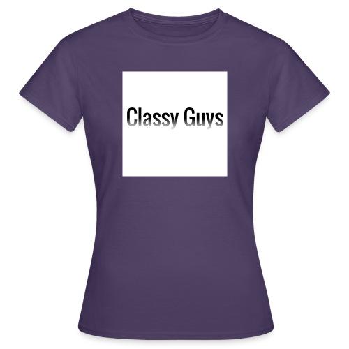 Classy Guys Simple Name - Women's T-Shirt