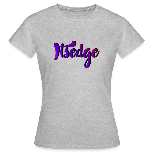 ItsEdge Signature Purple - Women's T-Shirt
