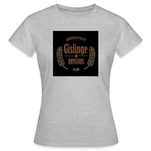 Sort logo 2017 - Dame-T-shirt