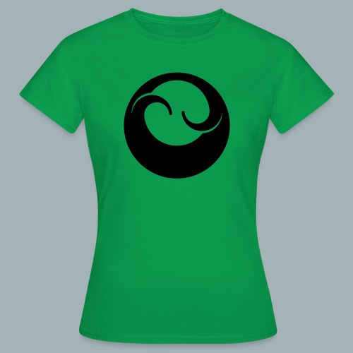 All Black Premium T-shirt - Vrouwen T-shirt