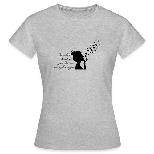 citation des milliers de baiser - T-shirt Femme