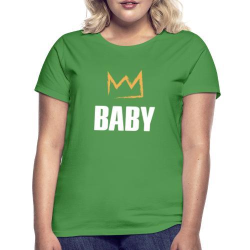 Baby mit Krone - Frauen T-Shirt