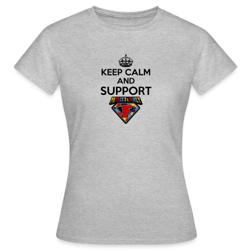Keep Calm And Support Patrick!! - Women's T-Shirt
