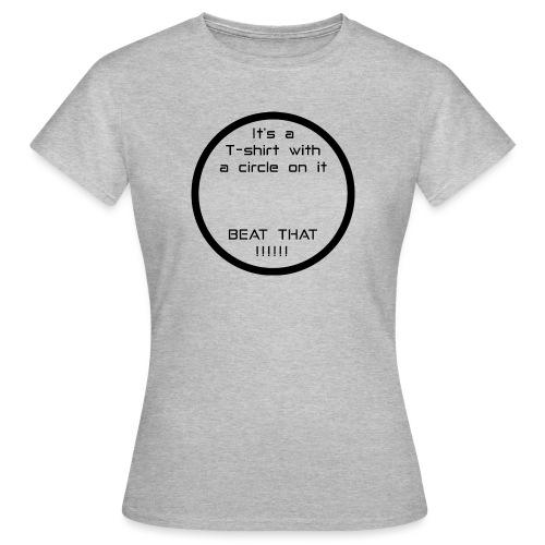 Circle - Women's T-Shirt