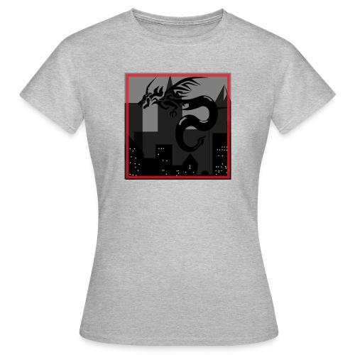 DRAGON EN LA CIUDAD - Camiseta mujer