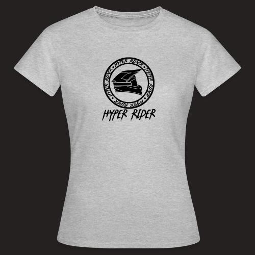 black back - Frauen T-Shirt