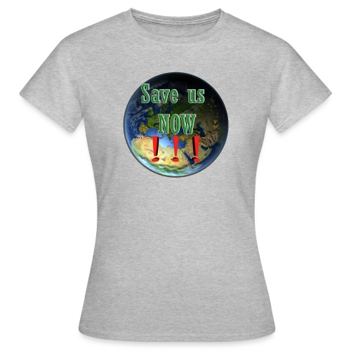save us earth friday for future - Women's T-Shirt