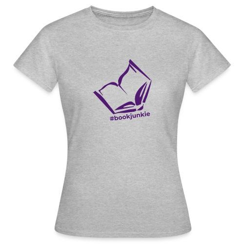 #bookjunkie 2019 - Frauen T-Shirt