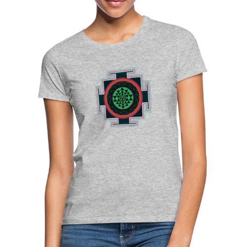 Sri Yantra Mandala - Frauen T-Shirt