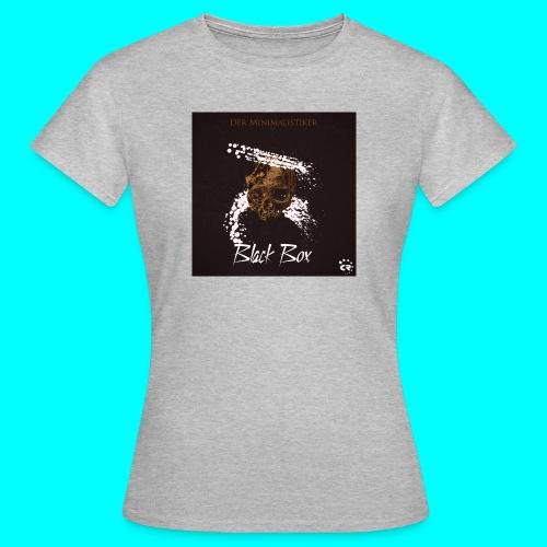 The minimalist - black box - Women's T-Shirt