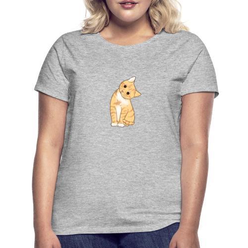 Pngtree cat orange cartoon 4992691 - Frauen T-Shirt