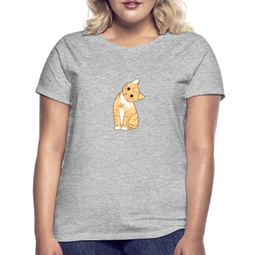 Pngtree cat orange cartoon 4992691 - Frauen T-Shirt