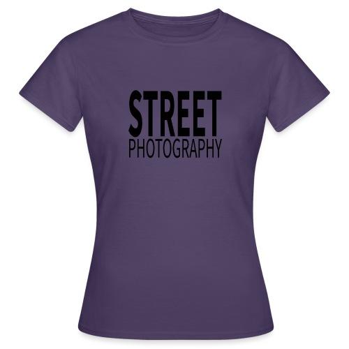 Street photography Black - Maglietta da donna