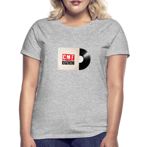 CMF RADIO VINYL RECORD - Women's T-Shirt