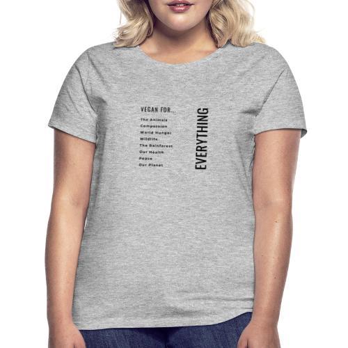 Vegano/a por... - Camiseta mujer