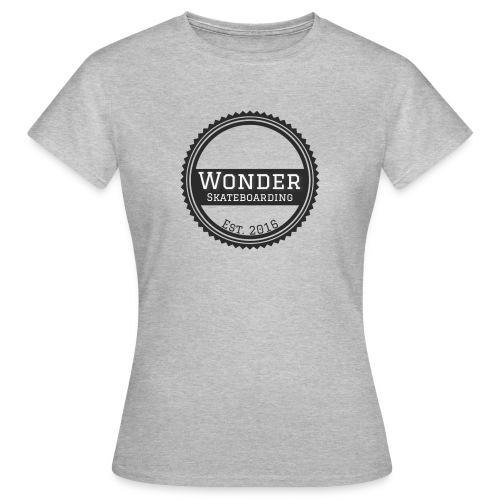 Wonder Longsleeve - round logo - Dame-T-shirt