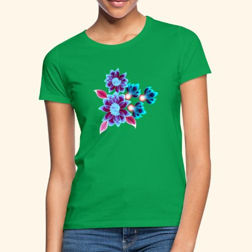 Hypnotic flowers - T-shirt Femme