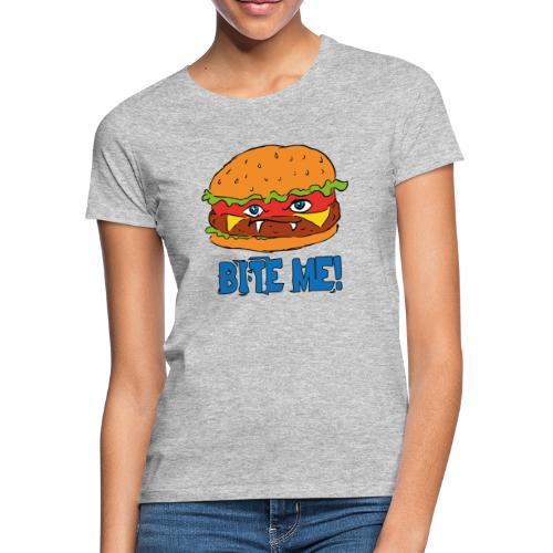 Bite me! - Maglietta da donna