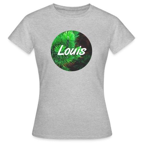 Louis round-logo - Frauen T-Shirt