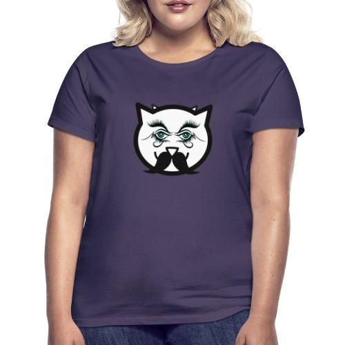 Hipster cat Boy by Tshirtchicetchoc - T-shirt Femme