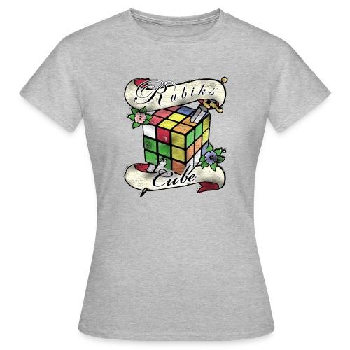 Rubik's Cube Tatoo - T-shirt dam