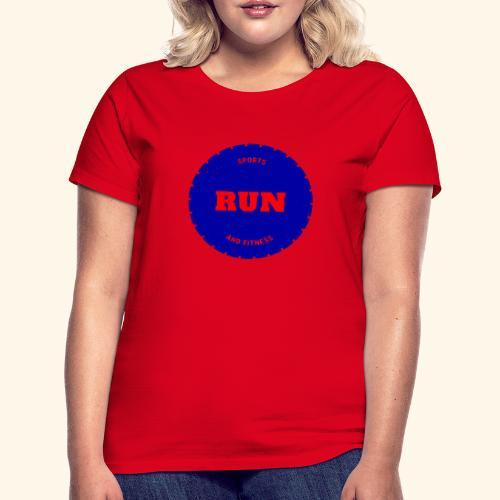 Run et fitniss - T-shirt Femme