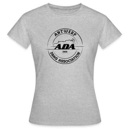 ADA DRAG Logo Groot Zwart - Vrouwen T-shirt